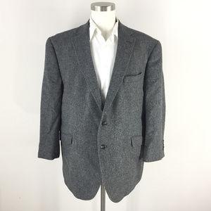 Jos A Bank 48 R Charcoal gray Wool Blazer coat